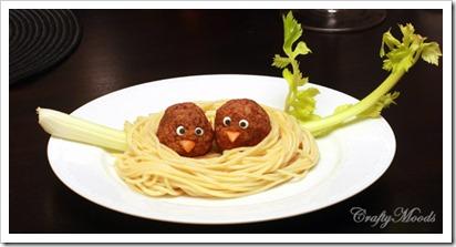 Pasta Bird Nests