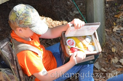 Geocaching The Lunch Box