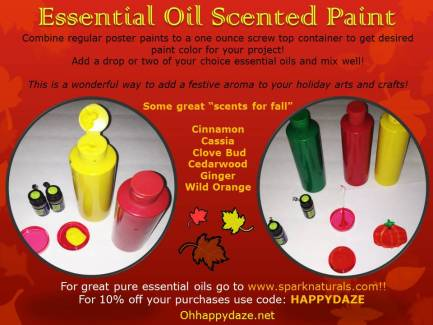 Essential Oil Scented Paint