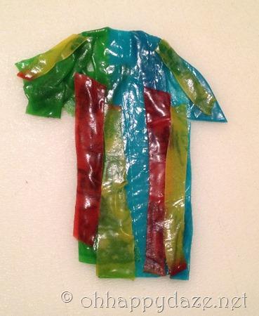 Joseph's Coat of Many Colors Edible Craft 4