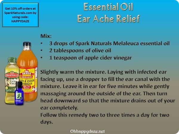 EO Ear Ache Relief Recipe