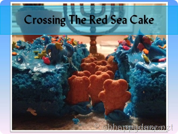 Crossing the Red Sea Cake