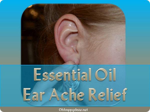 Essential Oil Ear Ache Relief