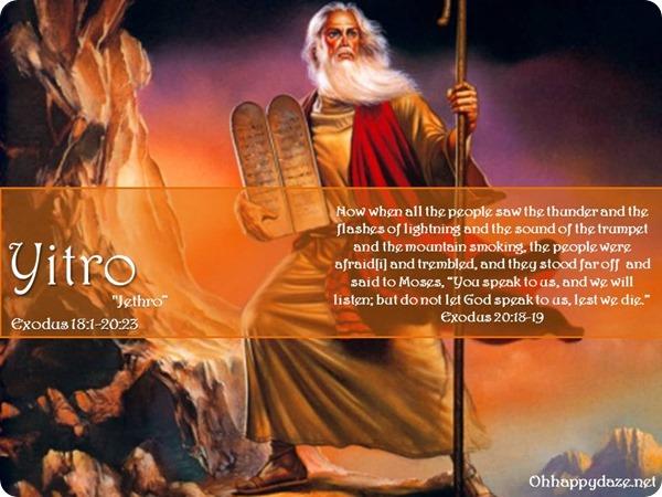 Torah Portion Yitro